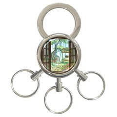 Town 1660349 1280 3 Ring Key Chains by vintage2030