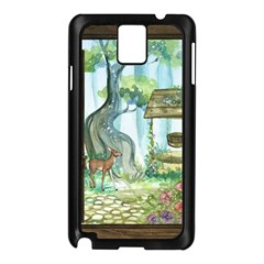 Town 1660349 1280 Samsung Galaxy Note 3 N9005 Case (black) by vintage2030