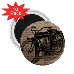 Bicycle Letter 2 25  Magnets (10 Pack)  by vintage2030