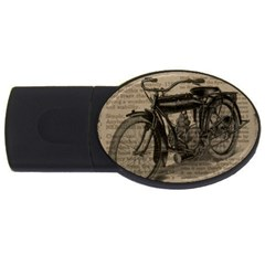 Bicycle Letter Usb Flash Drive Oval (4 Gb) by vintage2030