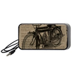Bicycle Letter Portable Speaker by vintage2030