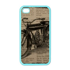 Bicycle Letter Apple Iphone 4 Case (color) by vintage2030