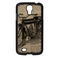 Bicycle Letter Samsung Galaxy S4 I9500/ I9505 Case (black) by vintage2030