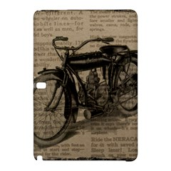 Bicycle Letter Samsung Galaxy Tab Pro 10 1 Hardshell Case by vintage2030