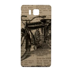 Bicycle Letter Samsung Galaxy Alpha Hardshell Back Case by vintage2030