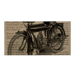 Bicycle Letter Satin Wrap by vintage2030