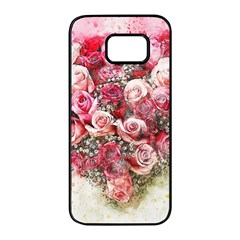 Flowers 2548756 1920 Samsung Galaxy S7 Edge Black Seamless Case