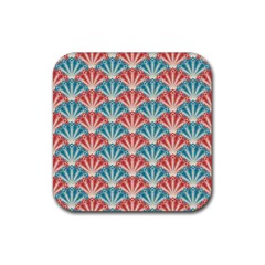 Seamless Patter 2284483 1280 Rubber Square Coaster (4 Pack)  by vintage2030