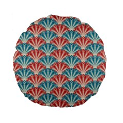 Seamless Patter 2284483 1280 Standard 15  Premium Flano Round Cushions by vintage2030