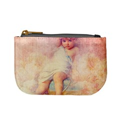 Baby In Clouds Mini Coin Purse by vintage2030