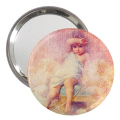 Baby In Clouds 3  Handbag Mirrors by vintage2030