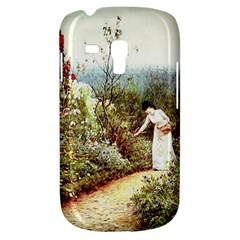 Lady And Scenery Samsung Galaxy S3 Mini I8190 Hardshell Case by vintage2030