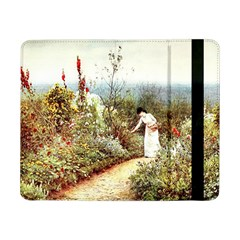 Lady And Scenery Samsung Galaxy Tab Pro 8 4  Flip Case by vintage2030