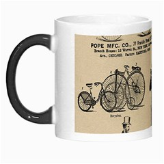 Victorian Bicycles Morph Mugs by vintage2030