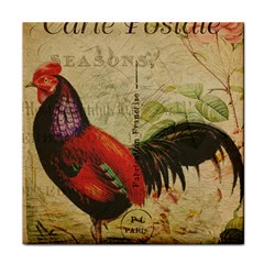 Rooster Tile Coasters