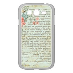 Rose Book Page Samsung Galaxy Grand Duos I9082 Case (white) by vintage2030