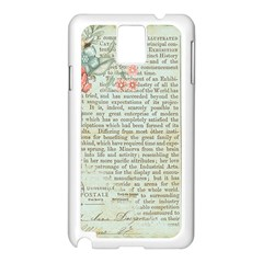 Rose Book Page Samsung Galaxy Note 3 N9005 Case (white) by vintage2030