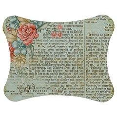 Rose Book Page Jigsaw Puzzle Photo Stand (bow) by vintage2030