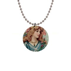 Lady Button Necklaces by vintage2030