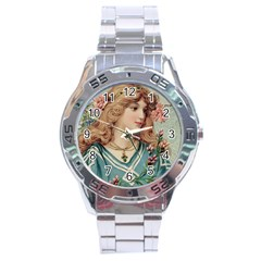 Lady Stainless Steel Analogue Watch by vintage2030