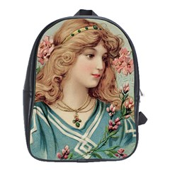 Lady School Bag (xl) by vintage2030