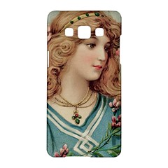 Lady Samsung Galaxy A5 Hardshell Case  by vintage2030