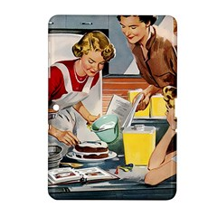 Retro Baking Samsung Galaxy Tab 2 (10 1 ) P5100 Hardshell Case  by vintage2030