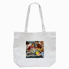 Retro Baking Tote Bag (white)