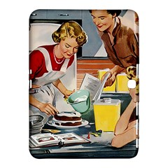 Retro Baking Samsung Galaxy Tab 4 (10 1 ) Hardshell Case  by vintage2030
