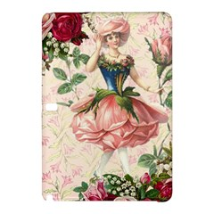 Flower Girl Samsung Galaxy Tab Pro 10 1 Hardshell Case by vintage2030