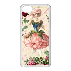 Flower Girl Apple Iphone 8 Seamless Case (white) by vintage2030