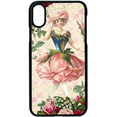 Flower Girl Apple Iphone X Seamless Case (black) by vintage2030
