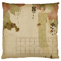 Twenties Girl Standard Flano Cushion Case (one Side) by vintage2030