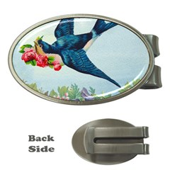 Blue Bird Money Clips (oval)  by vintage2030