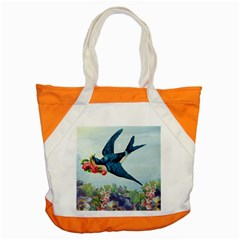 Blue Bird Accent Tote Bag