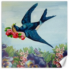 Blue Bird Canvas 16  X 16
