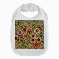 Flower And Butterfly Bib