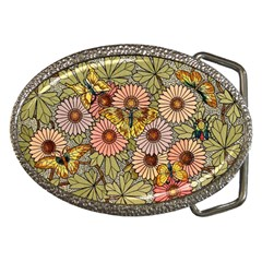 Flower And Butterfly Belt Buckles by vintage2030