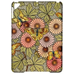 Flower And Butterfly Apple Ipad Pro 9 7   Hardshell Case by vintage2030