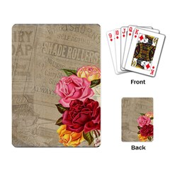 Flower 1646069 960 720 Playing Card by vintage2030