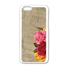 Flower 1646069 960 720 Apple Iphone 6/6s White Enamel Case by vintage2030