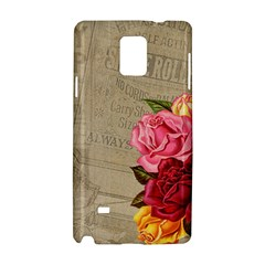 Flower 1646069 960 720 Samsung Galaxy Note 4 Hardshell Case by vintage2030