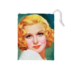 Vintage 1384354 960 720 Drawstring Pouch (medium) by vintage2030