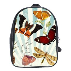Butterfly 1064147 960 720 School Bag (xl) by vintage2030