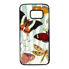 Butterfly 1064147 960 720 Samsung Galaxy S7 Black Seamless Case