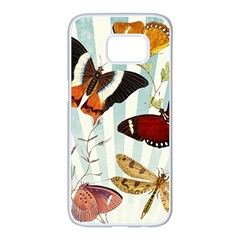 Butterfly 1064147 960 720 Samsung Galaxy S7 Edge White Seamless Case