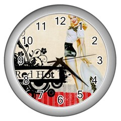 Retro 1112777 960 720 Wall Clock (silver) by vintage2030