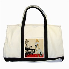 Retro 1112777 960 720 Two Tone Tote Bag by vintage2030