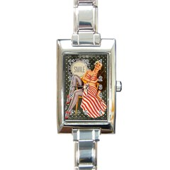 Retro 1410650 960 720 Rectangle Italian Charm Watch
