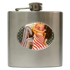 Retro 1410650 960 720 Hip Flask (6 Oz)